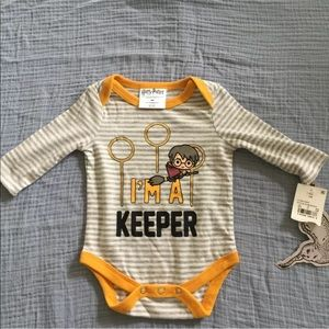 NWT Harry Potter NB Body Suit
